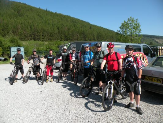 Shop trip to Afan/Cwm Carn…
