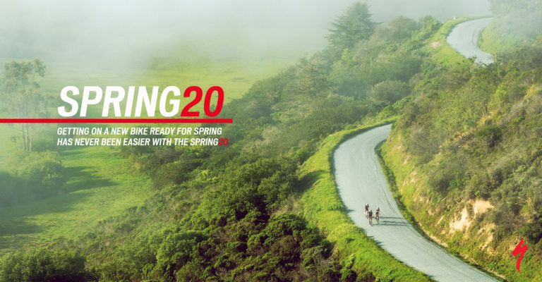 Specialized SPRING20 promotion